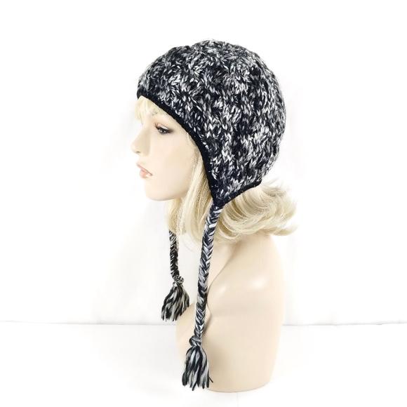 730e9571be83d1 Black White Fleece Lined Knit Earflap Beanie Hat. Columbia.  M_5c5220af0cb5aa3c1e7f7fc5. M_5c5220ac2e14787668e6e31a.  M_5c5220af6197452e271cf3d3